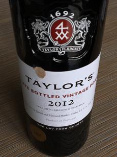Taylor's LBV 2012, Porto, Portugal
