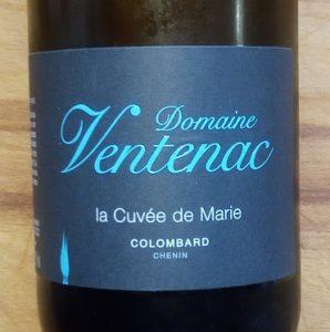 Domaine Ventenac Colombard, 2016, La Cuvee de Marie