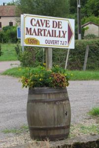De classificatie van Bourgogne, een cave bezoeken
