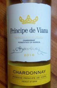 Principe de Viana Chardonnay, Navarra, Spanje