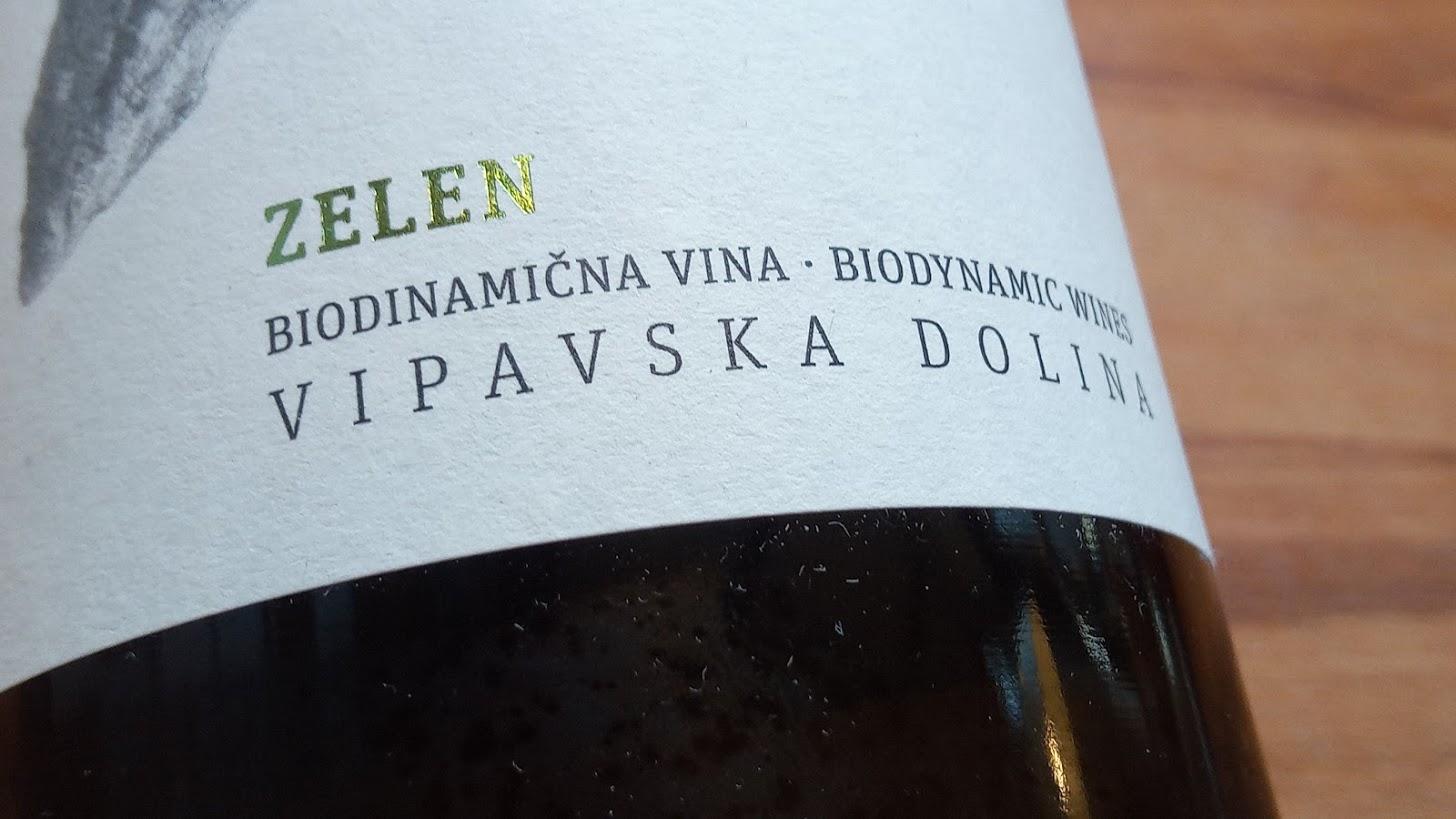 Guerila Zelen, Biodynamisch, 2016, Slovenië