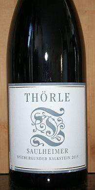 Weingut Thorle Spätburgunder