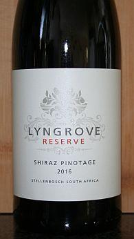 Lyngrove Shiraz Pinotage