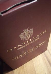 Mantellassi Bag in Box, Maremma Toscana Rosso DOC 2017, Italië