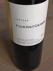 Chateau Fleur Haut Gaussens 2012, AC Bordeaux Superieur, Frankrijk