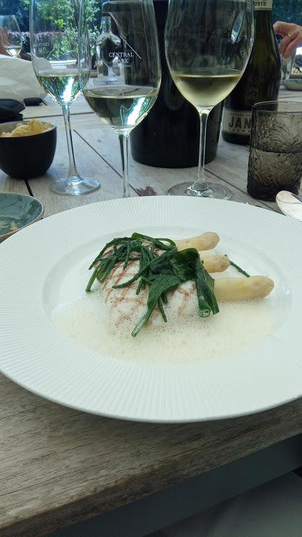 Pewsey Vale Vineyard, Riesling is een goede combinatie met vis en asperges