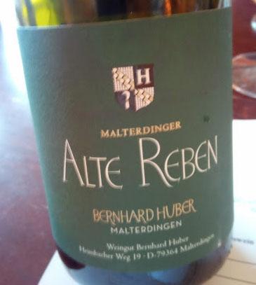 Weingut Bernhard Huber in Baden Alte Reben