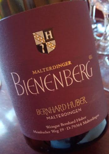 Weingut Bernhard Huber in Baden Bienenberg
