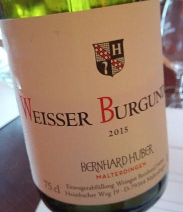 Weingut Bernhard Huber in Baden Weisser Burgunder