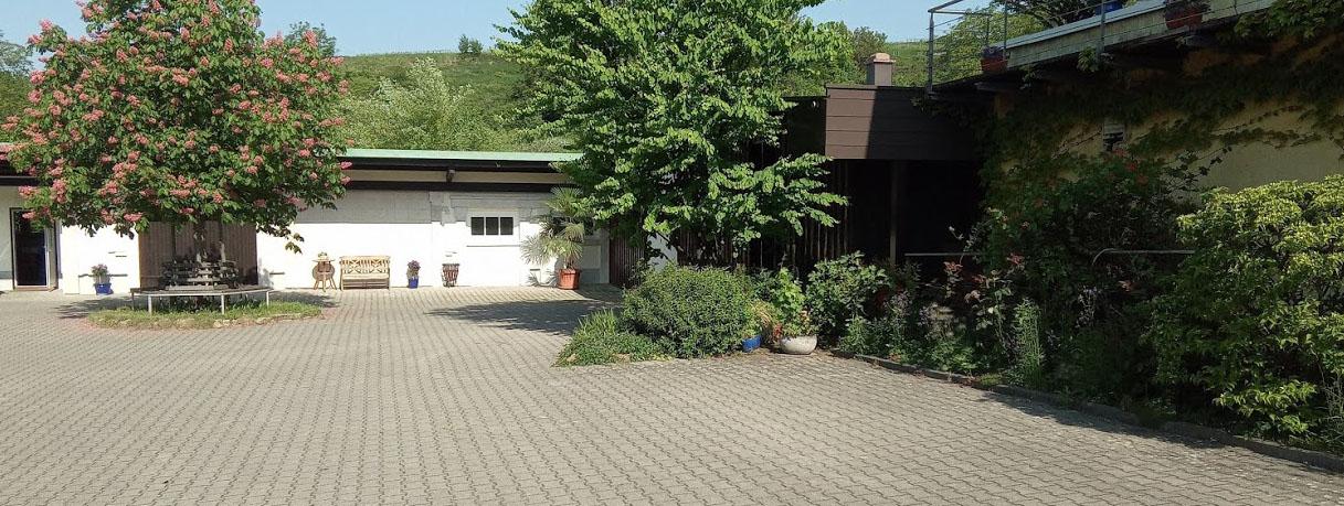 Weingut Bernhard Huber in Baden de wijnkelder