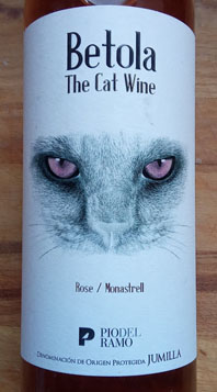 Betola The Cat Wine, Rosé Monastrell, Bio, Jumilla 2017, Spanje