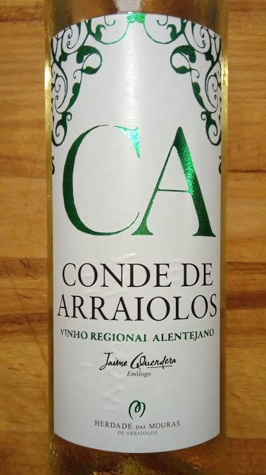Conde de Arraiolos Wit, Vinho Regional Alentejano, Portugal
