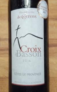 Croix Basson 2016, Côtes de Provence, Frankrijk