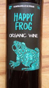 Happy Frog Tempranillo - Syrah, Bio, Spanje