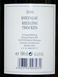 Robert Weil Riesling