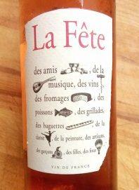La Fête Rosé, biologische wijn uit Frankrijk