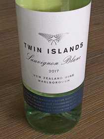 Twin Islands Sauvignon Blanc 2017, Marlborough, Nieuw Zeeland