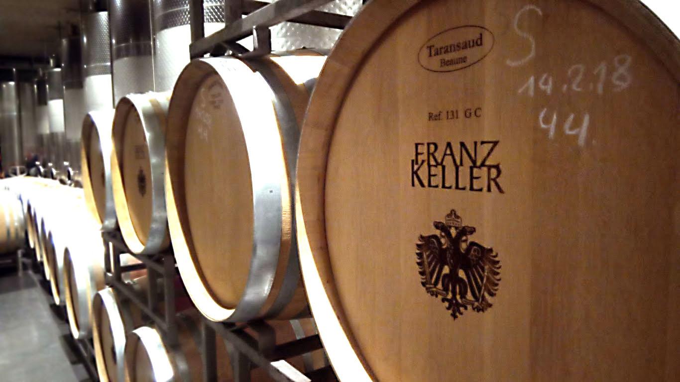 Wijn uit Baden. Franz Keller, een van de mooiste wijnbedrijven in Kaiserstuhl