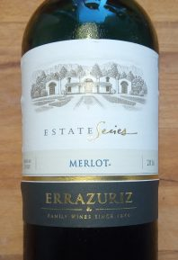 Errazuriz Merlot Estate Series, 2016, Valle de Curico, Chili