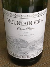 Mountain View Chenin Blanc 2016, W.O. Western cape, Zuid-Afrika