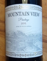 Mountain View Pinotage 2015, Westkaap, Zuid Afrika