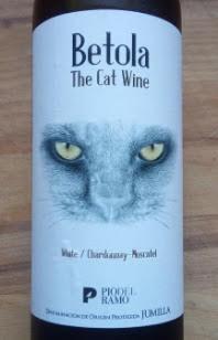 Betola White The Cat Wine, Jumilla, Bio, Spanje