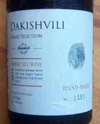 Dakishvili Amber Dry Wine