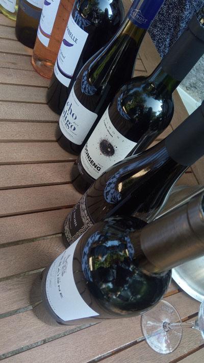 Een deel van de wijnen van Plaimont