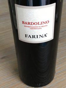 Farina Bardolino 2017, DOC Bardolino, Veneto, Italië