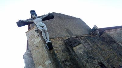 Het kerkje van Saint Mont stamt uit de 11e eeuw