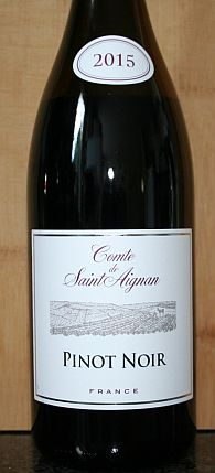 Comte de Saint Aignan Pinot Noir