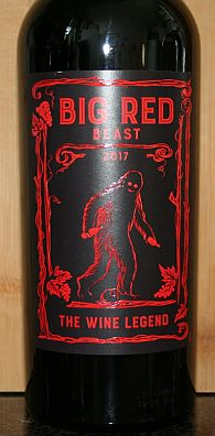 Big Red Beast Wine Legend