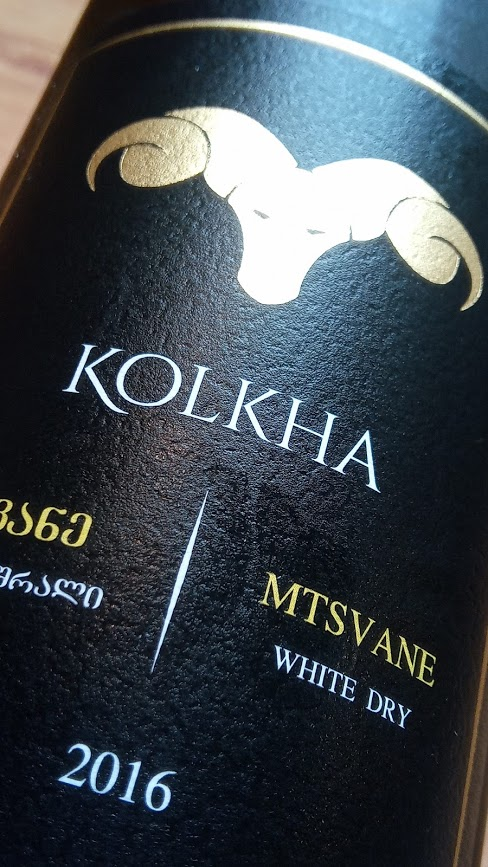 Kolkha Mtsvane, witte droge wijn uit Georgië