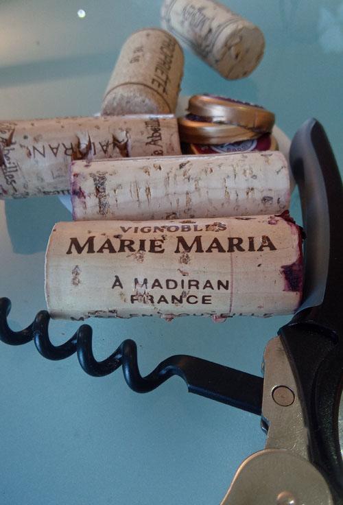 Madiran, Marie Maria met kurkentrekker