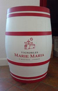Madiran en Saint Mont, vignobles Marie Maria