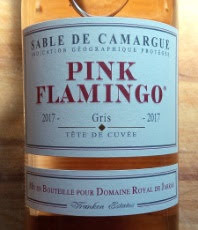Pink Flamingo Gris, Sable de Camargue 2017, Domaines Royal de Jarras