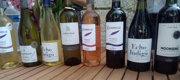 Plaimont producteurs, een selectie van de wijnen