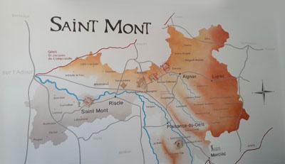 Saint Mont - het wijngebied