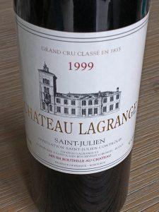 Chateau Lagrange 1999, 3e Grand Cru Classe, AC St. Julien, Frankrijk