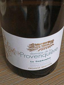 Domaine de la Provenquière 'Le Témérire' 2016, IGP Coteaux d'Ensérune, Frankrijk
