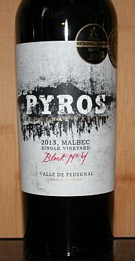 Pyros Block No 4 Malbec