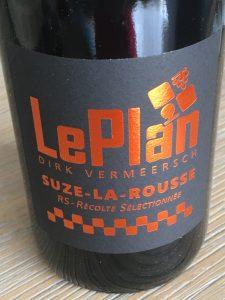LePlan Suze-la-Rousse RS 2017, AOP Cotes du Rhone Villages, Frankrijk