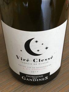 Domaine des Gandines 2017, AOP Viré-Clessé, Terroir de Clessé, Frankrijk