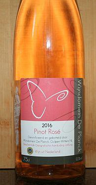 Wijndomein de Planck Pinot Rosé