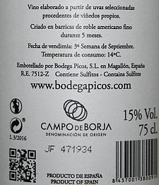 Gregoriano Roble Bodega Picos