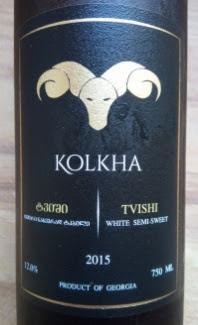 Kolkha Tvishi, witte wijn uit Georgië