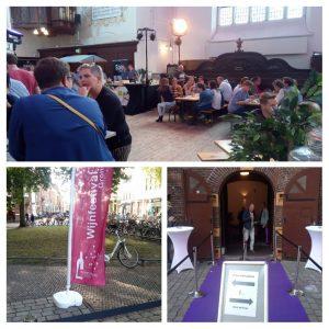 Mooie wijnen en gezelligheid op het Wijnfestival Groningen de start