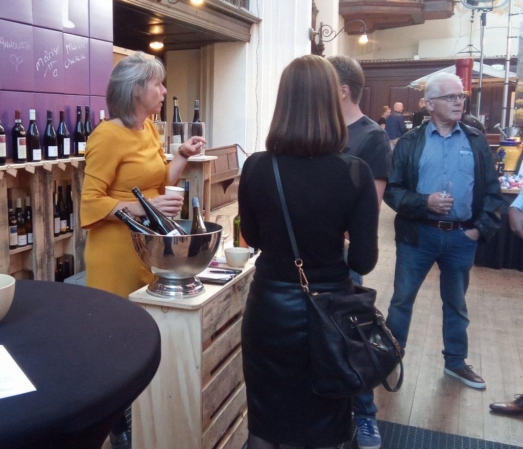 Mooie wijnen en gezelligheid op het Wijnfestival Groningen en lekker wijn proeven