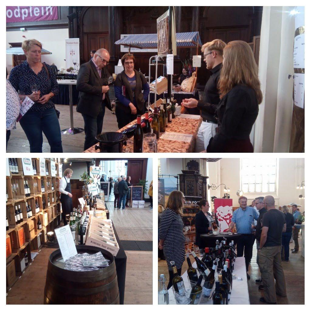 Mooie wijnen en gezelligheid op het Wijnfestival Groningen