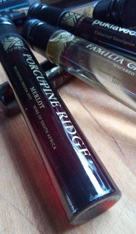 Porcupine Ridge Merlot, Wine in Tubes van AH